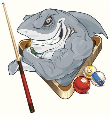 鲨鱼,球袋,三角形,鳃,动物牙齿,动物,背鳍,8号球,运动,矢量