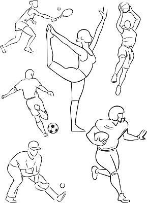 多样,运动头盔,网球运动,团体性运动,生活方式,美式足球,休闲游戏,体操,篮球运动