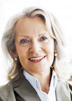 中老年女人,注视镜头,商务,专业人员,经理,一个人,肖像,正装,50到54岁,女人