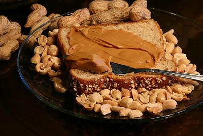 花生酱,花生,坚果,黑色,黑色背景,大量物体,份量,特写,健康食物,饮食