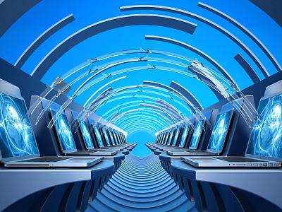 全球通讯,计算机部件,建筑,概念,未来,三维图形,数据,互联网,网络服务器