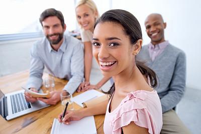 爱的,专门技术,青年男人,男性美,人,团队,休闲装,非洲人,白人,办公室