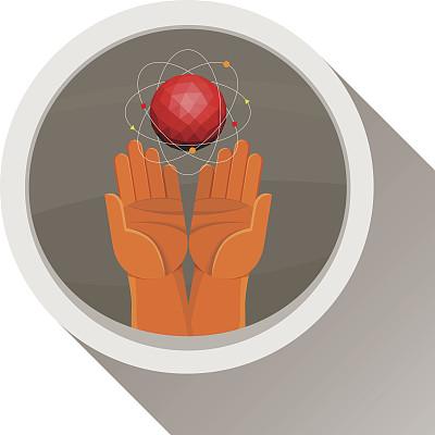 人体,手,球体