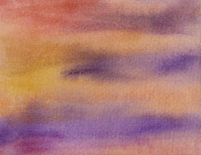 手工着色,橙色,紫色,纹理,色彩饱和,背景,水平画幅,水彩画颜料,笔触,流动