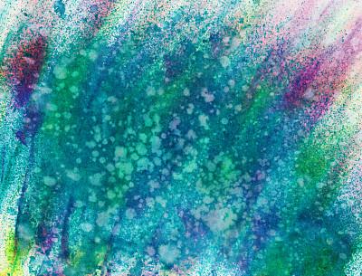 纹理,背景,手工着色,色彩鲜艳,水彩画颜料,水彩颜料,艺术,紫色,损坏的,背景幕