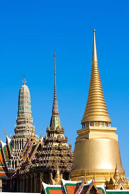 玉佛寺,青铜,泰国,建筑,宫殿,亚洲,异国情调,青铜色,东南亚