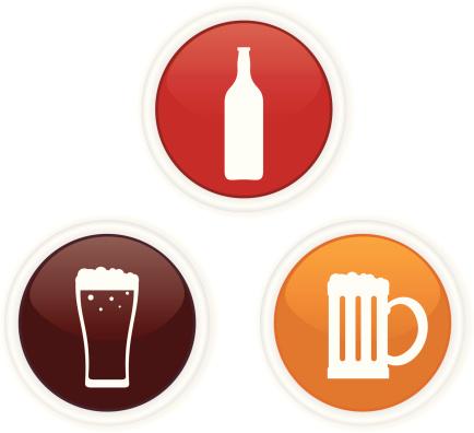 计算机图标,啤酒瓶,概念,饮食,饮料,瓶子,含酒精饮料,水壶,啤酒,沟通