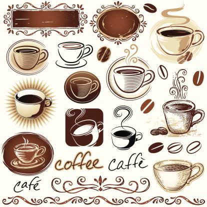 咖啡,化学元素周期表,饮食,纹理效果,褐色,蒸汽,计算机图标,烤咖啡豆,浓咖啡,绘画插图