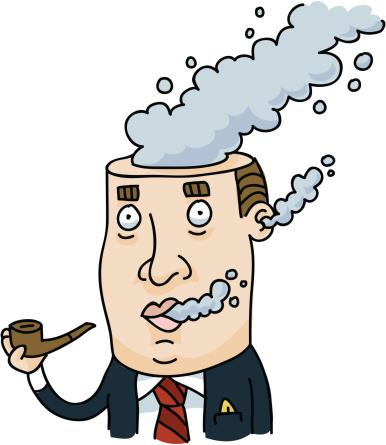 男人,吸烟问题,人,套装,商务,烟,成年的,烟囱,绘画插图