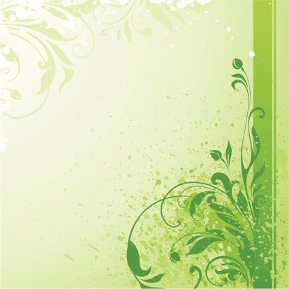 春天,夏天,背景,自然,绿色,斑点,叶子,卷着的,花,生长