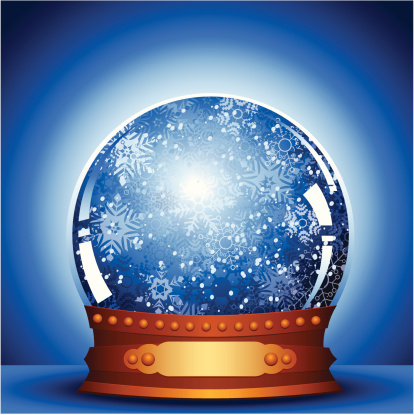 雪花球,闪亮的,散焦,水晶球,法定假日,蓝色,白色,庆祝,设计