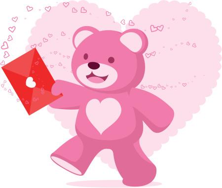 泰迪熊,红色,情书,节日,概念和主题,公告信息,动物,热情,谢谢,庆祝