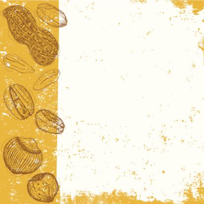 坚果,背景,多样,饮食,食品,纹理效果,粗糙的,现代,肮脏的,设计