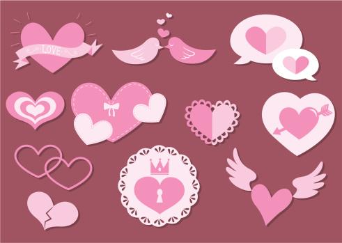 心型,概念,婚姻,礼物,矢量,爱你,爱,约会,调情,微笑