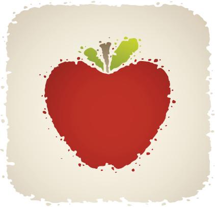 苹果,食品,自然,水果,绘画插图,无人,矢量,一个物体,剪影,喷溅