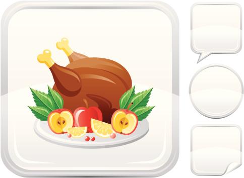 銀色,計算機圖標,火雞肉,按鍵區,烤火雞,烤雞,雞肉,烤肉餐,白色背景