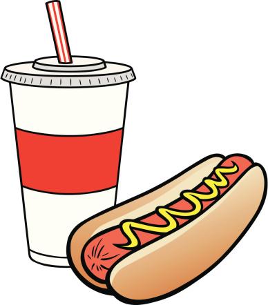 饮料,热狗,德国食物,牛奶,不健康食物,小圆面包,奶昔,冷饮,矢量,背景