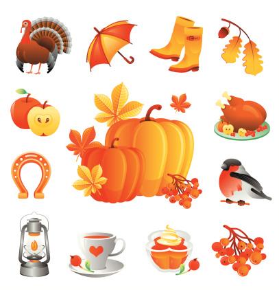 绘画插图,红腹灰雀,马蹄铁,花楸浆果,饮食,饮料,食品,靴子,伞,甜食