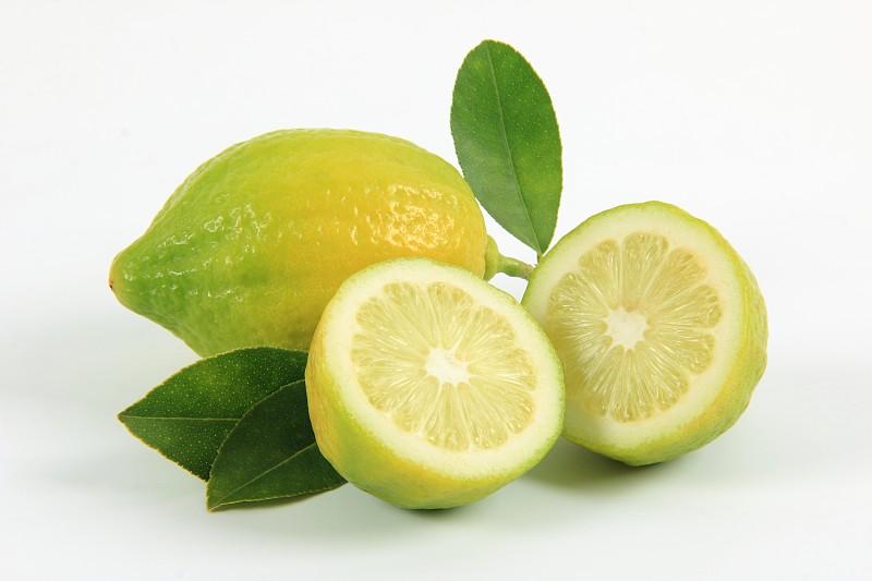 清新,柠檬,白色背景,蔬菜,横截面,背景分离,多样,食品,橙子,熟的