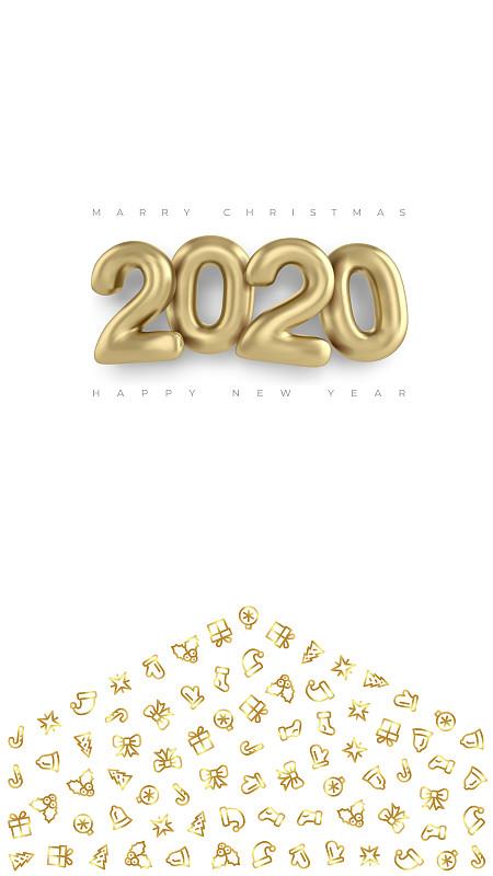 传媒,2020,讲故事,黄金,三维图形,雕刻图像,计划书,立体图像,模板,幸福