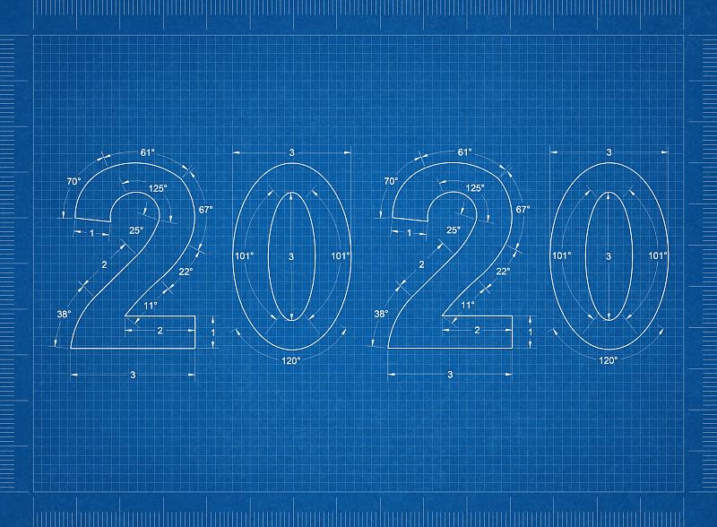 2020,新年前夕,蓝图,背景聚焦,新年,事件,文字,十二月,符号,冬天