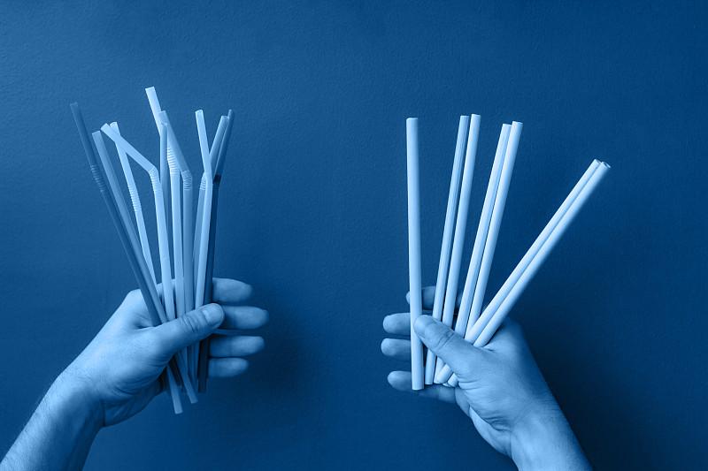 环境,背景,吸管,竹,多色的,彩色图片,蓝色,单色图片,数字1,服从
