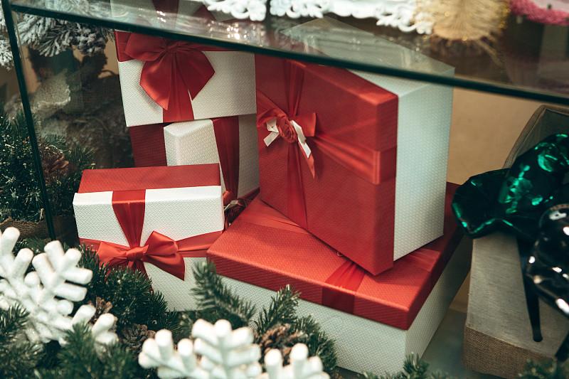 新年前夕,盒子,节日,传统,商务,事件,圣诞装饰物,装饰物,窗户
