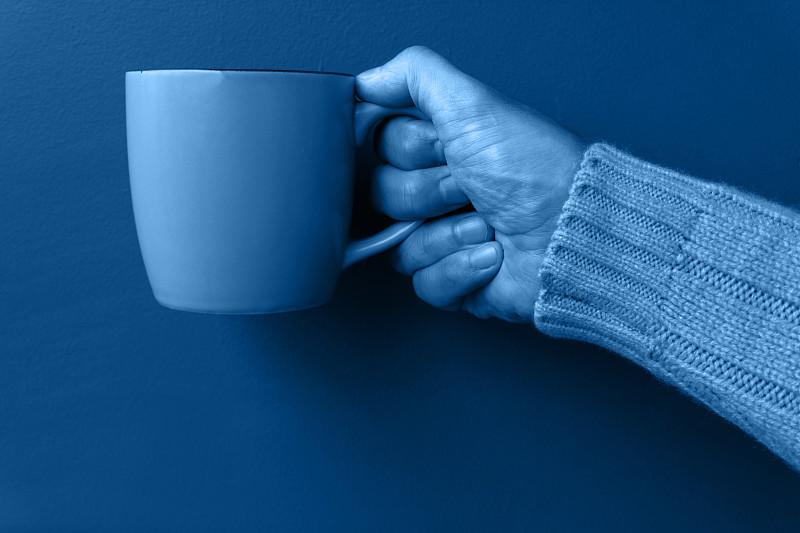 热,2020,马克杯,概念,冬天,手,彩色图片,毛衣,男人,摄影