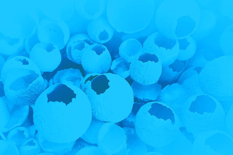 式样,破碎的,蛋,蓝色,彩色背景,简单,纹理效果,2020,复活节,背景分离