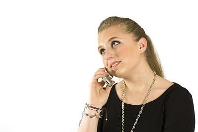 电话机,无绳电话,办公室,选择对焦,水平画幅,美人,忙碌,白人,仅成年人