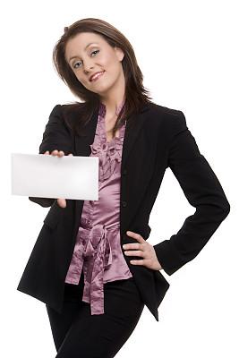 女商人,白色,简单,戒童,垂直画幅,正面视角,美,智慧,消息,美人