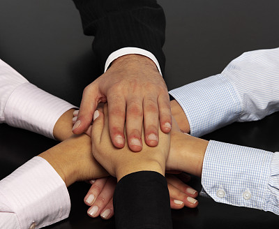 手,办公室,少量人群,水平画幅,会议,手牵手,男商人,图像,特写,责任