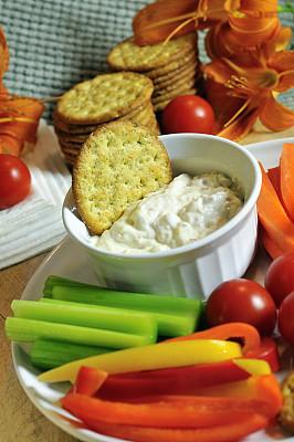 餐盘,自助餐,橙色灯笼椒,烤碗,萱草,主菜餐盘,黄色灯笼椒,垂直画幅,留白,胡萝卜