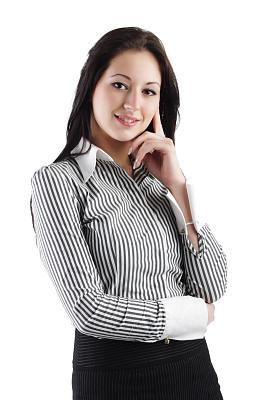 女商人,假笑,垂直画幅,留白,领导能力,套装,图像,经理,仅成年人,青年人