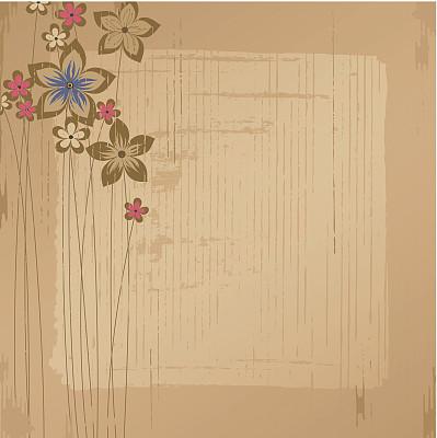 褐色,贺卡,自然,留白,无人,绘画插图,斑点,古典式,摇滚乐,方形画幅