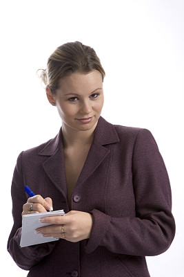 it技术支持,储蓄,扬起眉毛,垂直画幅,金色头发,女人,笔记本,秘书,科学实验,图像
