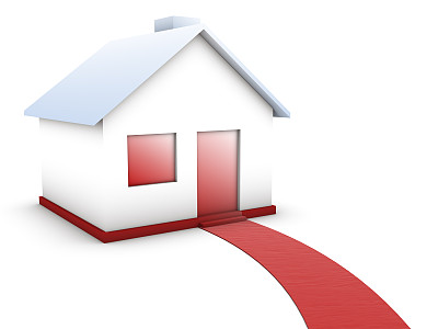 房屋,红毯秀,绘画插图,地毯,天鹅绒,居住区,想法,白色,彩色图片,街道