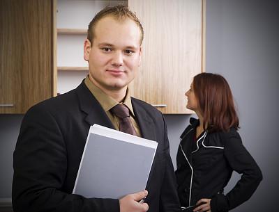 销售职位,新的,水平画幅,注视镜头,顾客,伴侣,白人,男性,仅成年人,晕影效果