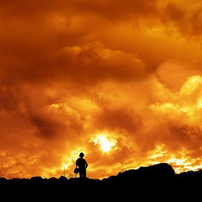 山地滑板,参与者,灵性,风景,风,暴风雨,休闲活动,能源,纯净,周末活动