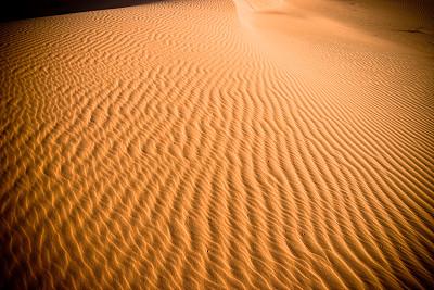 纹理效果,撒哈拉沙漠,留白,褐色,式样,水平画幅,橙色,沙子,无人,干的
