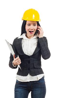 建筑师,女性,垂直画幅,领导能力,建筑承包商,智慧,黑发,套装,图像,经理