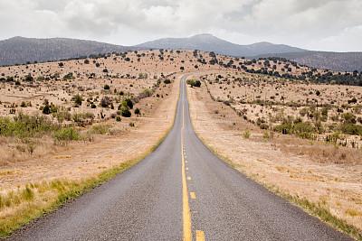 荒野公路,自然,天空,水平画幅,无人,路,商务旅行,夏天,户外,云景