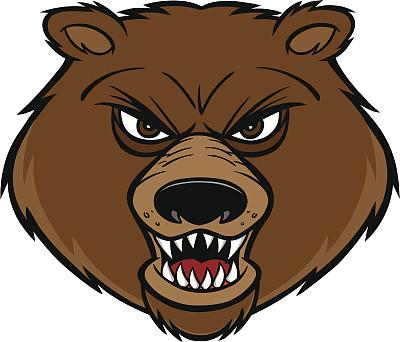 熊,吉祥物,亚洲黑熊,科迪亚克棕熊,棕熊,运动,野生动物,信心,图像,动物牙齿