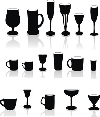 玻璃,杯,葡萄酒,茶树,绘画插图,玻璃杯,含酒精饮料,果汁,饮料,咖啡