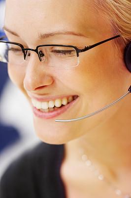 客户服务代表,女性,外包,垂直画幅,休闲活动,服务业职位,图像,it技术支持,不看镜头,仅成年人