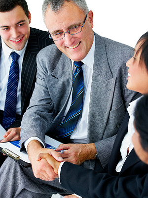 商务人士,特写,新员工,兼并和收购,垂直画幅,领导能力,少量人群,套装,男商人,经理