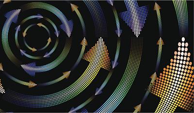箭头符号,背景,艺术,形状,无人,绘画插图,透视图,组物体,几何形状,计算机制图