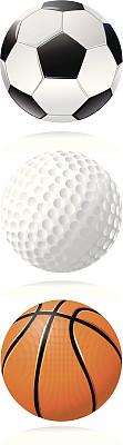 球体,运动,球,高尔夫球运动,高尔夫球,无人,足球运动,篮球,矢量,足球