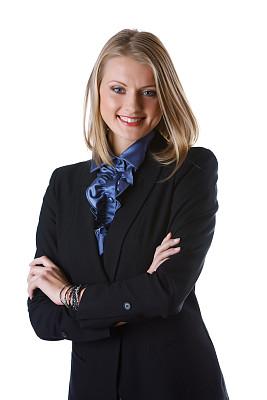 女商人,垂直画幅,正面视角,留白,领导能力,智慧,销售职位,套装,图像