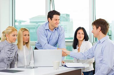 商务,修改系列,信心,办公室,领导能力,笔记本电脑,水平画幅,工作场所,会议,人群